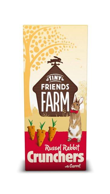 Supreme Russel Rabbit Crunchers Carrot 120 gram
