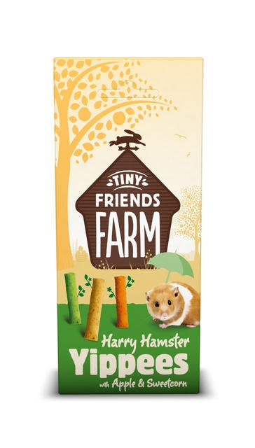 Supreme Harry Hamster Yippees Apple & Sweetcorn 120 gram
