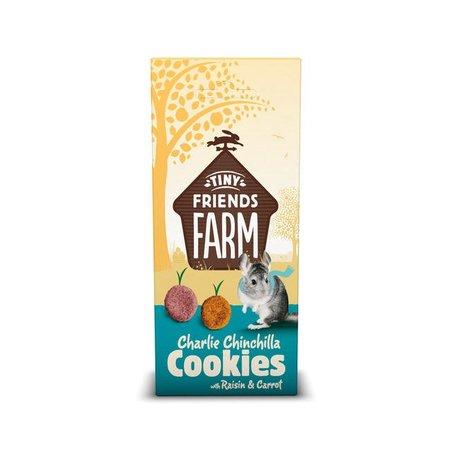 Supreme Charlie Chinchilla Raisin Cookies & Karotte 120 Gramm