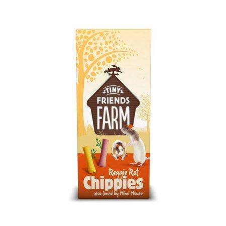 Supreme Reggie Rat Chippies 120g