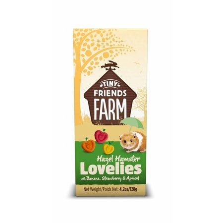 Supreme Hazel Hamster Lovelies Banaan, Aardbei & Abrikoos