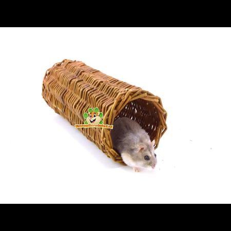 Trixie Tunnel aus geflochtener Weide
