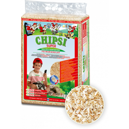 Chipsi Super Wood Fiber Granulate