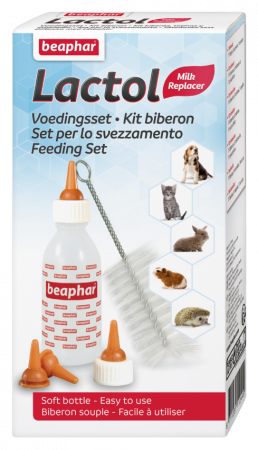 Beaphar Lactol Feeding Set Baby Bottle & Pacifiers