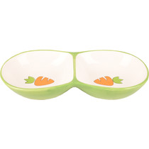 Feeding bowl Double Carrot 16 cm