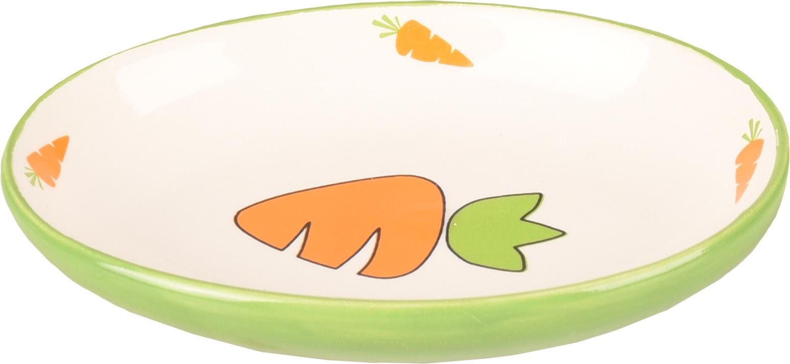 Futternapf Karotten oval 12,5 cm