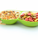 Food bowl Double Carrot 16 cm