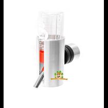 Aluminum drinking bottle holder