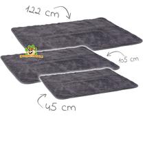 Fettbett Grau 45 x 28 cm