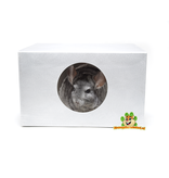 Knaagdierwinkel® Aluminium Chinchilla House 30 cm