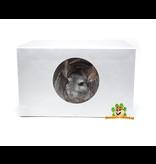 Knaagdierwinkel® Chinchillahaus aus Aluminium 30 cm