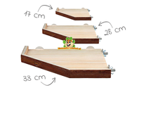 Wooden Plateau with edge