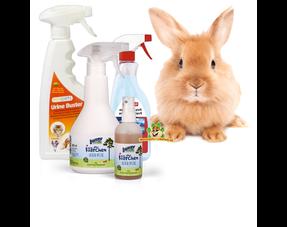 Reinigungsprodukte für Kaninchen