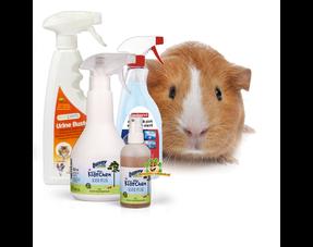 Meerschweinchen-Reinigungsprodukte