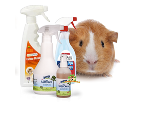Reinigungsprodukte für Meerschweinchen