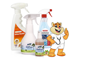 Reinigungsprodukte für Hamster