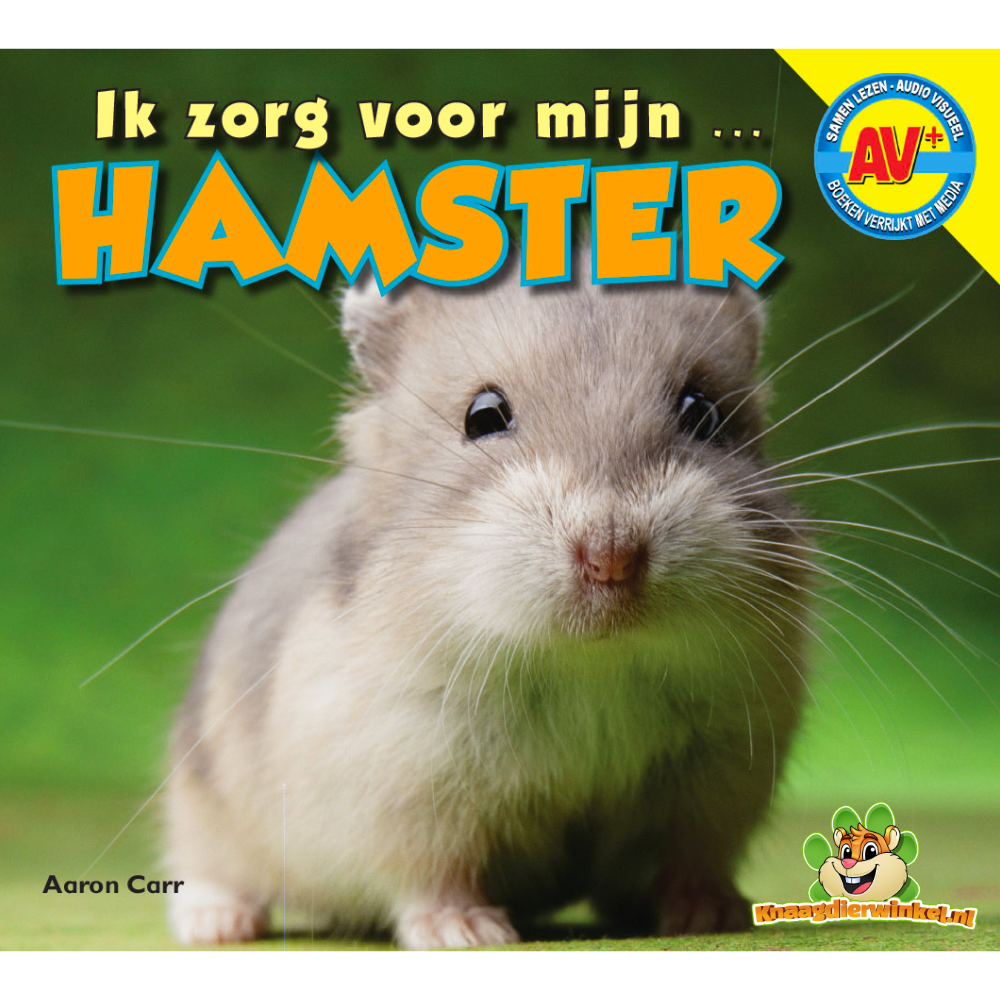 Ich passe auf meinen Hamster auf