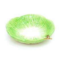 Feeding bowl Leaf lettuce 11.5 cm