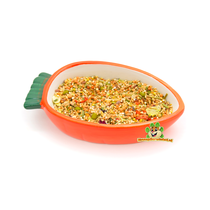 Karotten-Fressnapf 13 cm