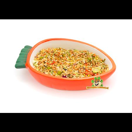 Happy Pet Carrot Food Bowl 13 cm