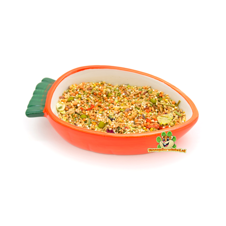 Happy Pet Karotten-Fressnapf 13 cm