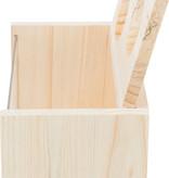 Trixie Zandbak Blank met twee ingangen 20 cm