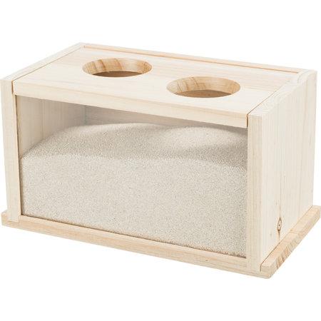 Trixie Sandkastenrohling mit zwei Eingängen 20 cm