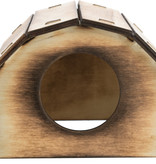 Trixie Wooden house Mikkel Flamed 13 cm