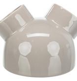Trixie Keramikhaus mit 3 Eingängen