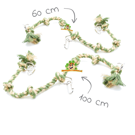 Happy Pet Knot Rope Green