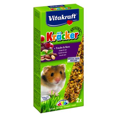 Vitakraft Vitakraft Hamster Kracker Trauben & Nüsse