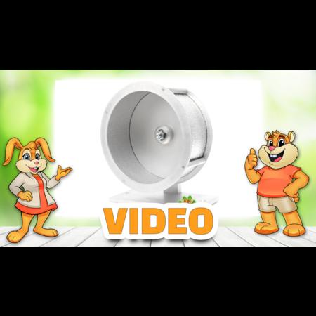 Knaagdierwinkel® Aluminum Exercise Wheel