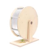 Knaagdierwinkel® Houten Aluminium Looprad