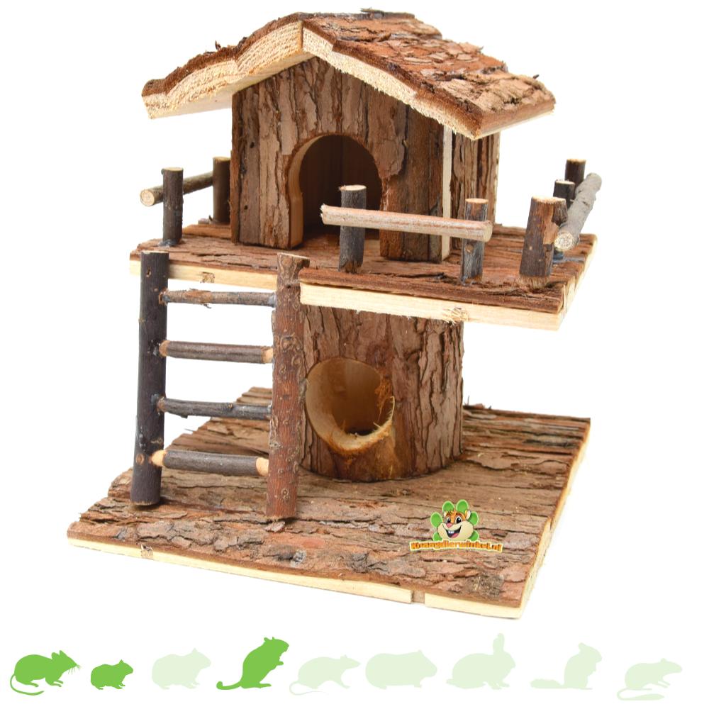 Hamster house tree house 20 cm