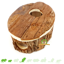 Wooden House Hollow 17 cm