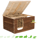 Trixie Hilke house with built-in hay rack 40 cm