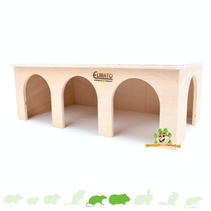 Cavia Station Huis Blank 45 cm