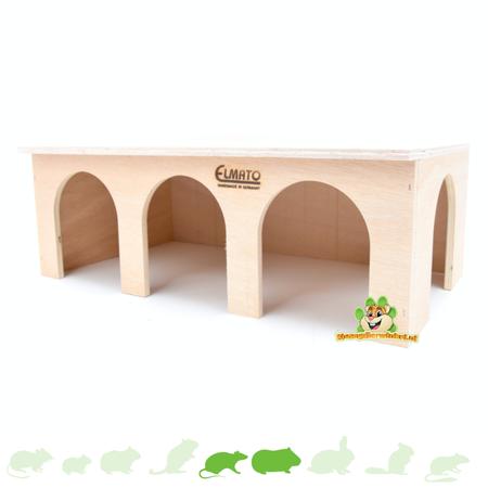 Elmato Cavia Station Huis Blank 45 cm
