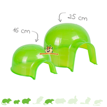 Igloo Green Rodent House