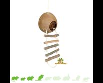 Coconut Cottage with Ladder 13 cm
