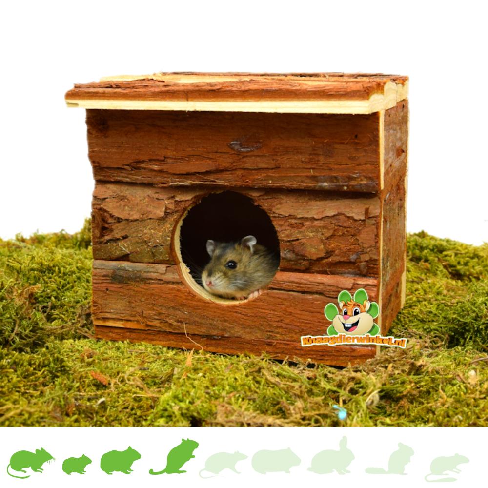 Trixie Natural Living Huis Jerrik 15 cm