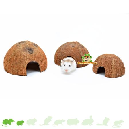 Trixie Half Coconuts (3 pieces)