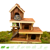 Natürlich lebendes Hamsterhaus Tammo