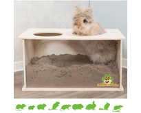Trixie Wooden Bucket Rabbit Blank 58 cm