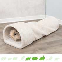 Plush Relax Tunnel Beige 80 cm