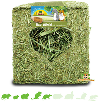 Hay Cube with Mealworms