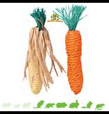 Trixie Mais & Karottenstroh Spielzeug 15 cm