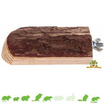 Natürliches lebendes Holzplateau 10 cm