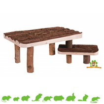 Wooden Plateaus 37 cm