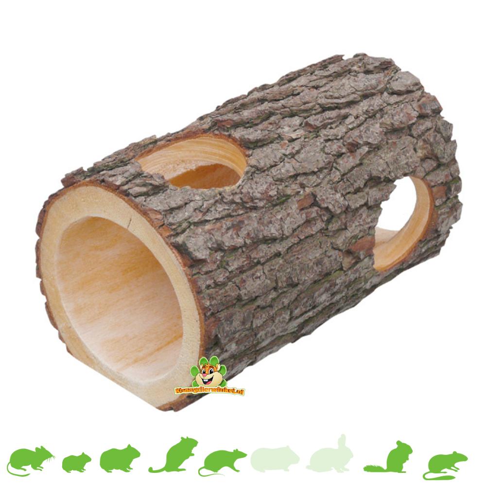 Erle Holzstammtunnel 33 cm